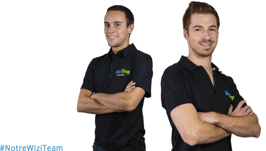 #NotreWiziTeam : Découvrez Sébastien et Julien de WiziShop