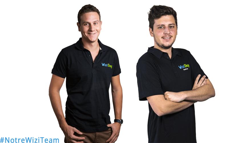 #NotreWiziTeam : Découvrez Jean-Baptiste et Matthias de WiziShop