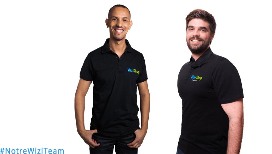 #NotreWiziTeam : Découvrez Djamel et Hadrien de WiziShop