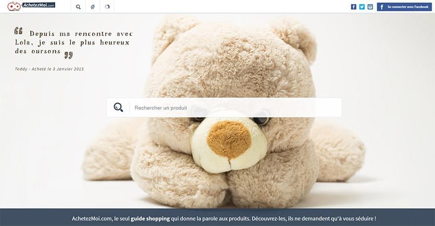 WiziShop lance AchetezMoi.com : Le guide qui réinvente le shopping !