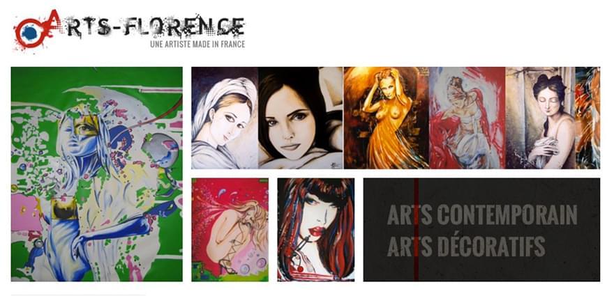 Florence Jacquet d'ArtsFlorence ou comment vendre de l'art en ligne ?