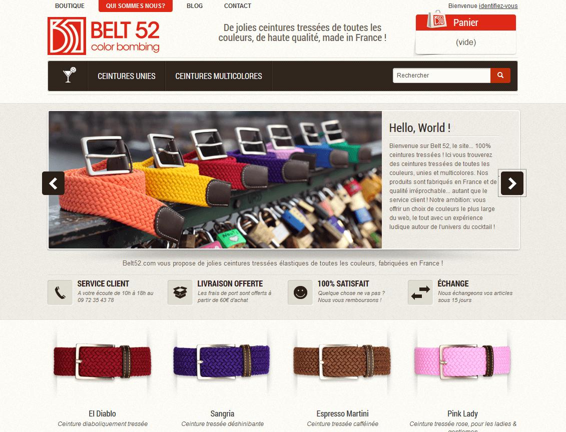 Témoignage de e-commerçant – Emmanuel de la boutique Belt52