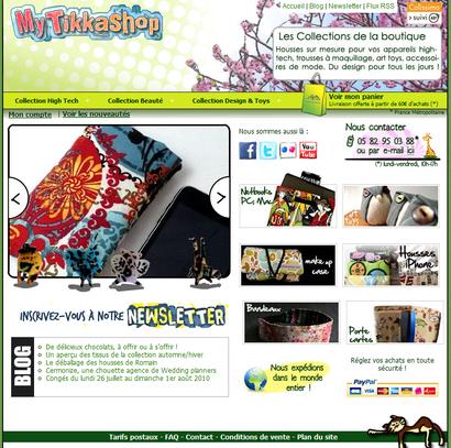 Témoignage de e-commerçant – Candice de la boutique MyTikkashop