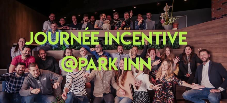 L'équipe de WiziShop réunie pour un incentive au Park Inn by Radisson, à Nice