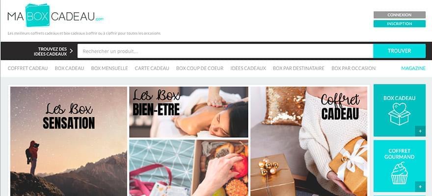 Nouveau : Vos produits gratuitement sur MaBoxCadeau.com