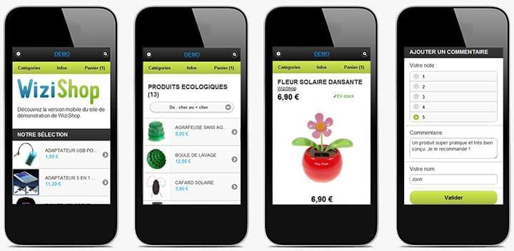 M-Commerce : Découvrez la nouvelle version mobile de votre site et personnalisez là !