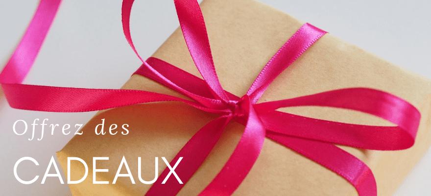 Nouveau : Offrez des cadeaux à partir d'un certain montant de commande