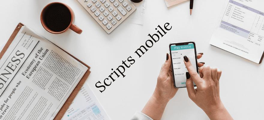 Ajout de scripts sur la version mobile