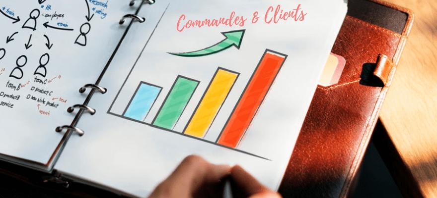 Statistiques : Commandes & Clients