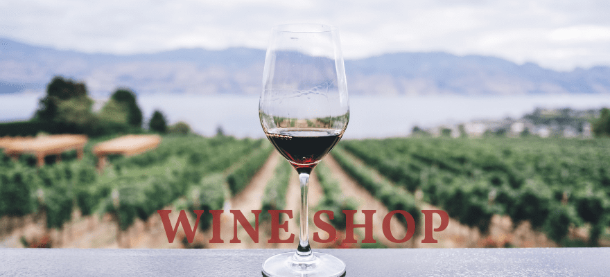 Nouveau design – Wine Shop