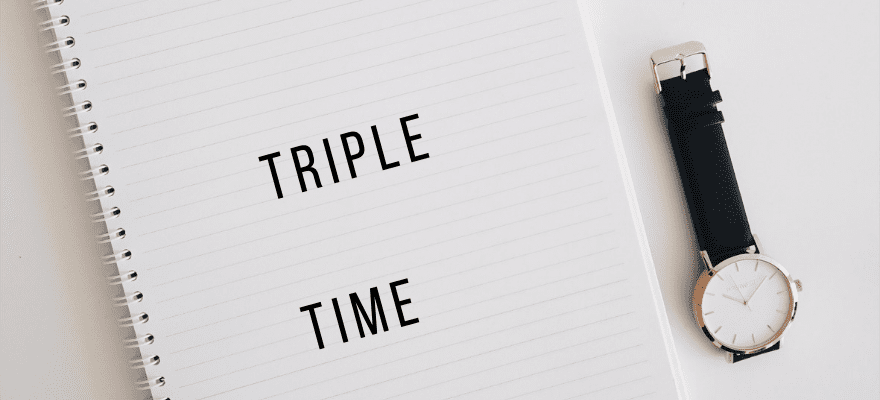 Nouveau design – Triple Time