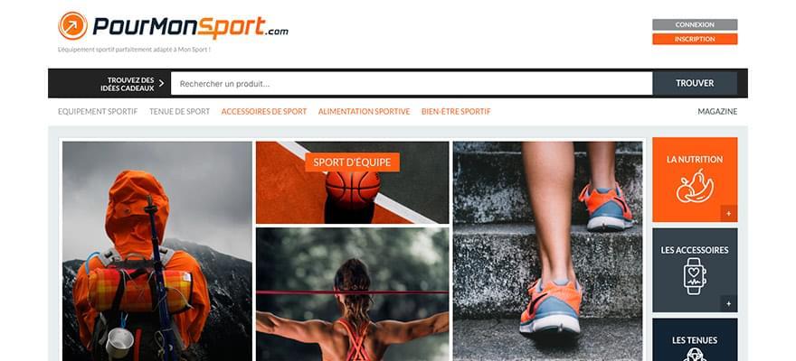 Nouveau : Vos produits gratuitement sur PourMonSport.com