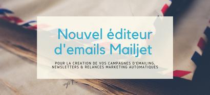 Nouvel éditeur d'emails Mailjet