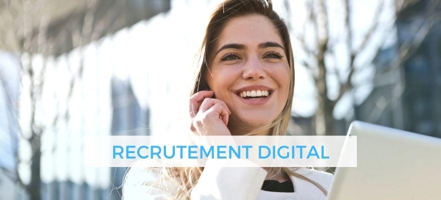 Recrutement Digital : Canaux, durée, nombre d'entretiens, candidatures et tendances