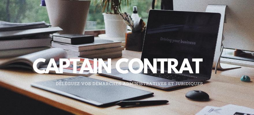 Captain Contrat, plateforme de services juridiques en ligne