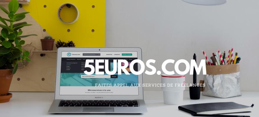 Faites appel aux services de freelances sur 5euros.com