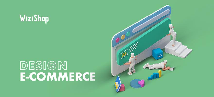 Design e-commerce : 23 exemples de sites inspirants créés sur la solution WiziShop