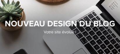 Mise à jour du design de votre blog !
